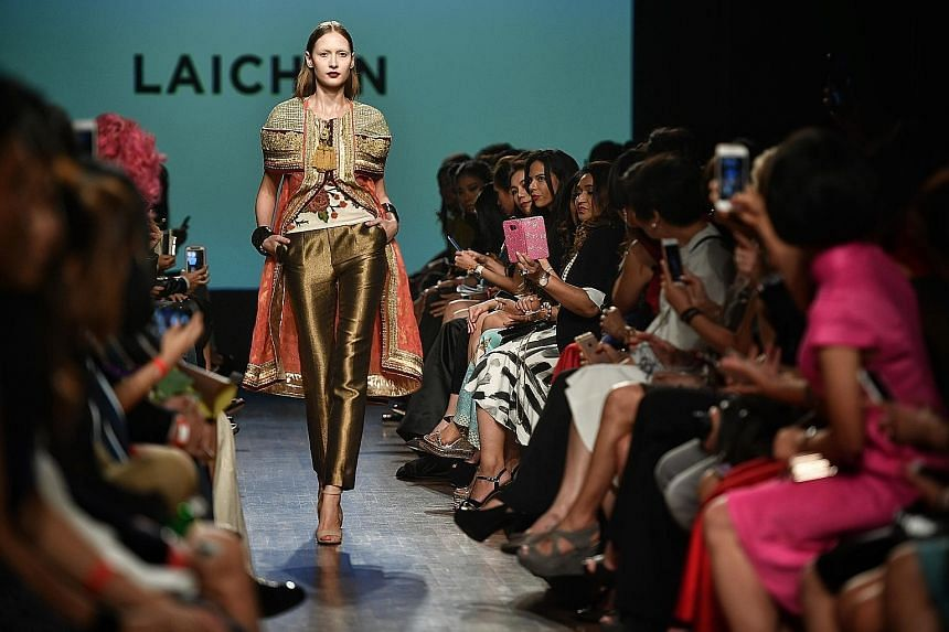 The three-day Singapore Fashion Week 2017 opened yesterday at the National Gallery Singapore with a collection by local designer Goh Lai Chan.