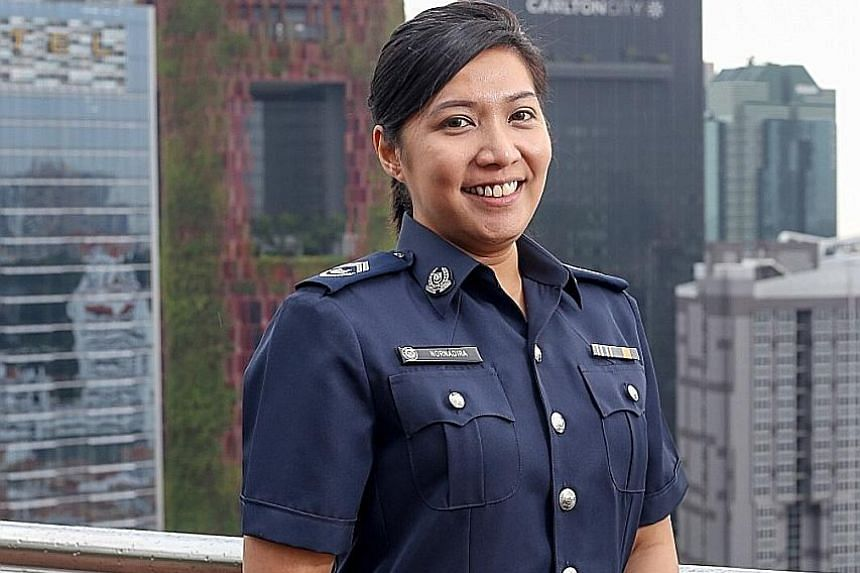 Station Inspector Nornadira Hadi's move to take a softer approach in dealing with a complaint about a group of youngsters paid off.