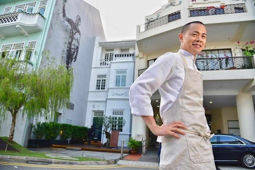 Chef-owner Andre Chiang will close his two-Michelin-starred Restaurant Andre in 2018.