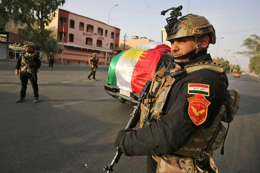 Iraqi forces mounted a new assault on Kurdish fighters in the disputed oil-rich Zummar area of Nineveh province, triggering heavy artillery exchanges.