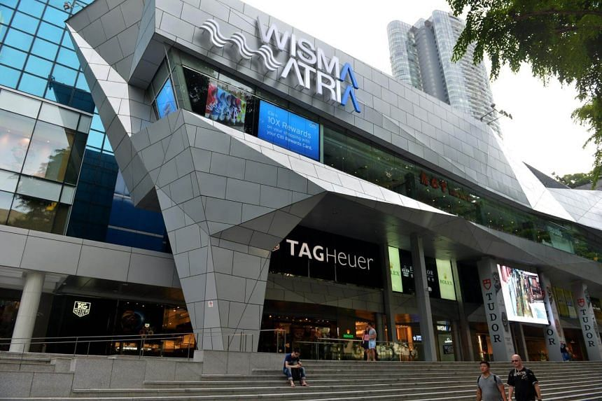 Starhill's interests in Wisma Atria and Ngee Ann City in Orchard Road contributed 61.1 per cent of total revenue, or S$32.4 million.