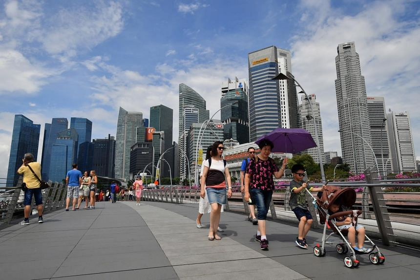 Singapore's economy has expanded by an average of 4.4 per cent quarter-on-quarter in the second and third quarters.