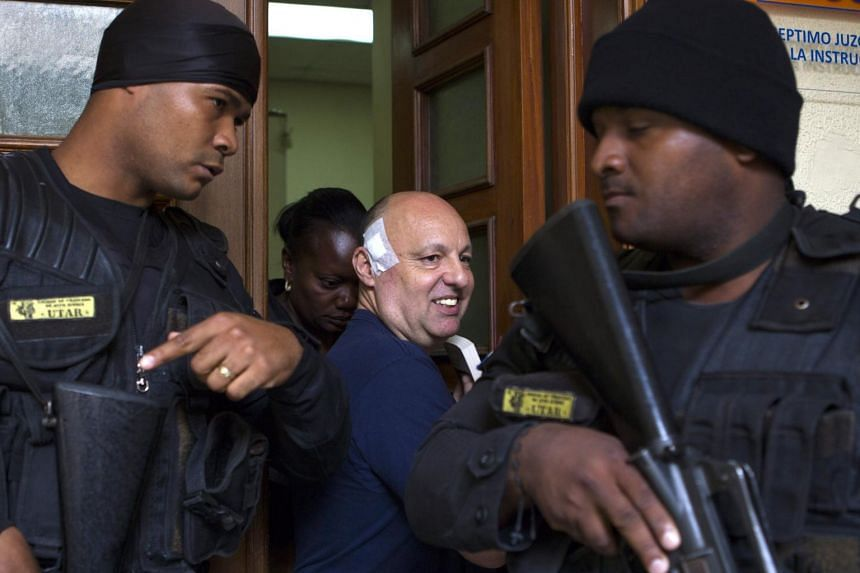 Frenchman Christophe Naudin, a criminologist and aviation security expert, was ordered to serve his sentence in Najayo prison, near Santo Domingo, where he has been detained since March 2016 after his extradition from Egypt.