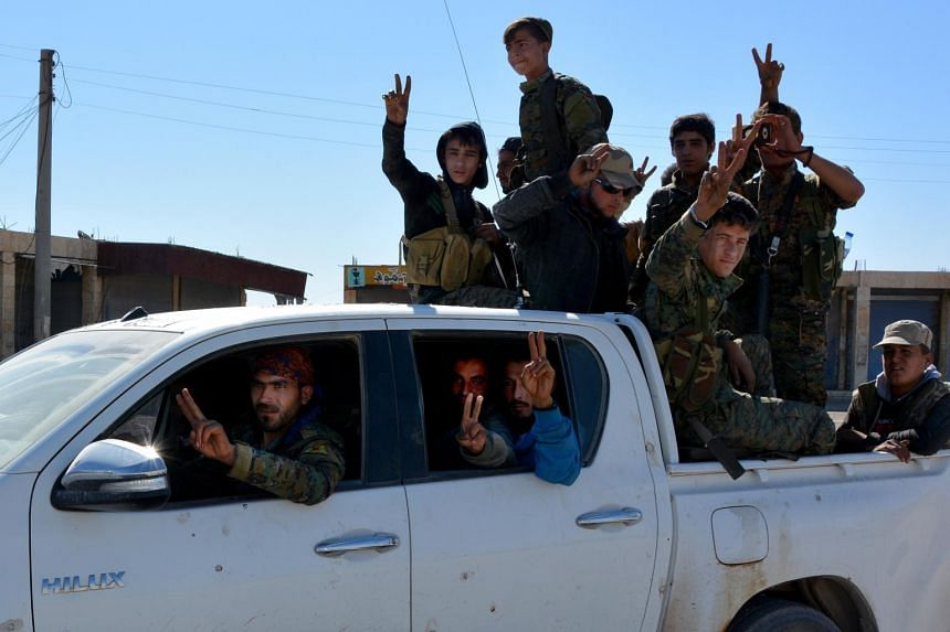 US-backed forces pushed the Islamic State out of Raqqa last week, dealing a heavy blow to the militants in a year in which they lost much of their territory.
