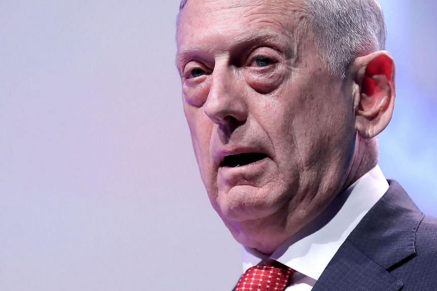 """James Mattis is expected to meet South Korean leaders before he joins the top US military officer, Marine General Joseph Dunford, at the annual """"Security Consultative Meeting"""" with South Korea's military."""