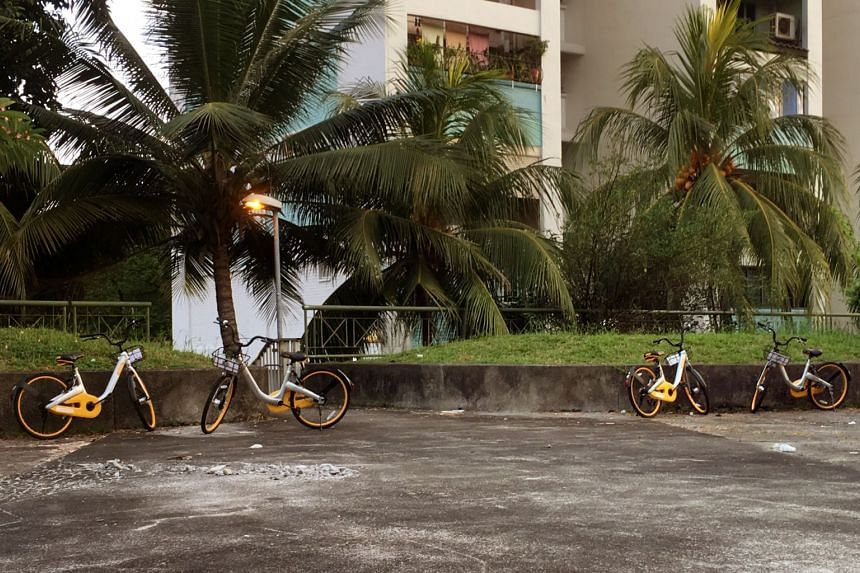 There will be a six-month trial in which oBike users who do not park their bicycles within designated areas will receive a notification to inform them the bikes have not been parked properly.