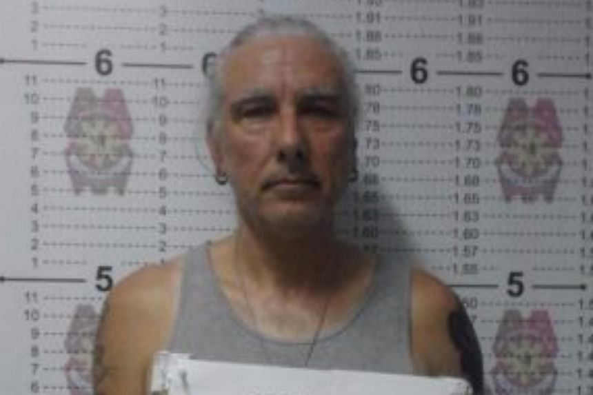 American Robin Hoyt Alderman, 58, was arrested upon his arrival at the Ninoy Aquino International Airport last week.