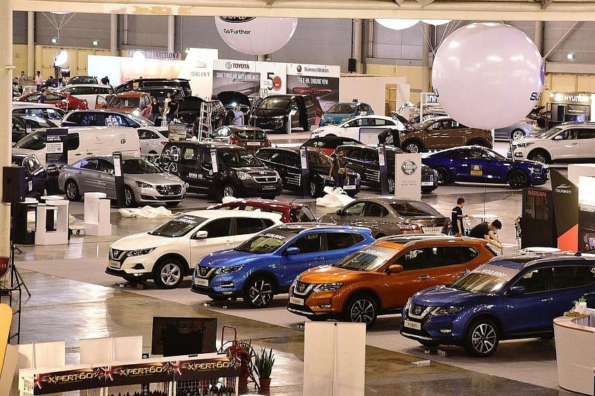 CarsExpo Returns With Better Bargains Singapore News Top Stories - The car show