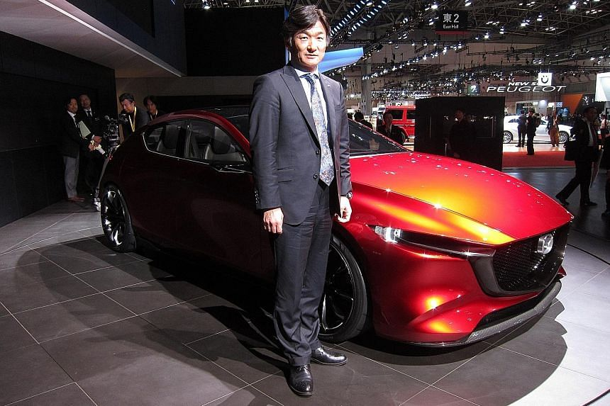 Mazda's managing executive officer Ichiro Hirose is in charge of powertrain development.