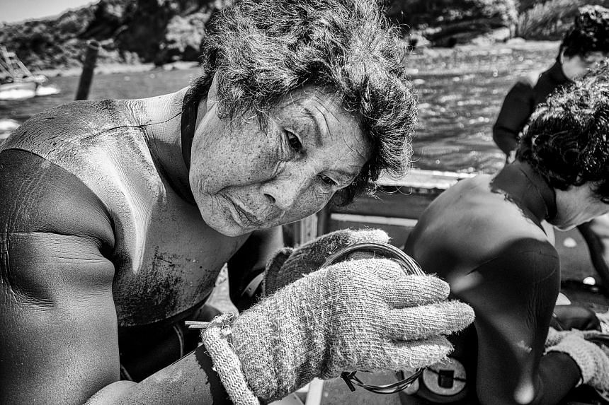 Professional endurance athlete and full-time photographer Jose Jeuland hopes to return to shoot videos of the haenyeo at work. The haenyeo, Jeju's women divers, go as deep as 30m without special diving equipment to catch seafood and collect seaweed t