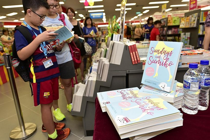 Sundays With Sumiko, a collection of columns written by Sumiko Tan, has sold about 4,500 copies.
