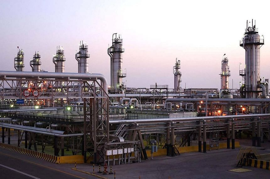 Aramco's Abqaiq oil facility in Saudi Arabia. The oil giant's share sale could be the world's biggest initial public offering.