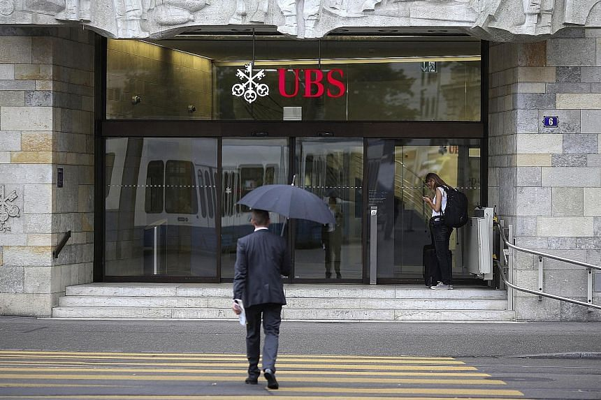 Although wealth management earnings have picked up, UBS still sees risks which could keep clients from trading, including the unwinding of the European Central Bank's balance sheet and political tensions in United States-North Korea relations.