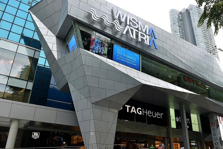 Starhill's Singapore assets, including interests in Wisma Atria, delivered a 7.1 per cent fall in net property income. This came even as Wisma Atria managed to lower expenses and achieve positive rental reversions.