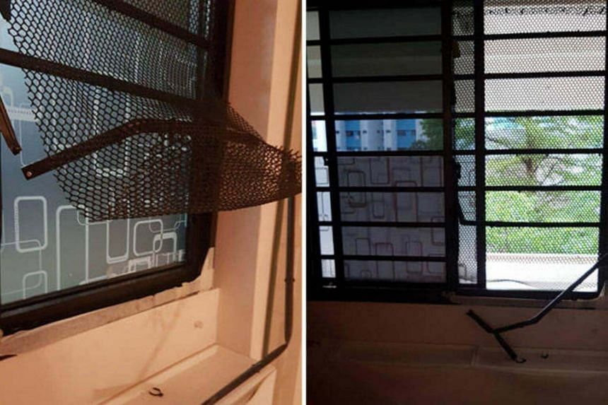 In a turn of events, a home-decor company sponsored two sets of new window grilles to replace the damaged ones.
