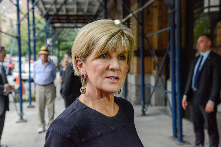 Foreign Minister Julie Bishop was appointed deputy prime minister on Saturday after a citizenship crisis.