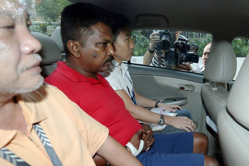 Krishnan Raju was charged in the State Court with causing the death of Madam Raithena Vaithena Samy.