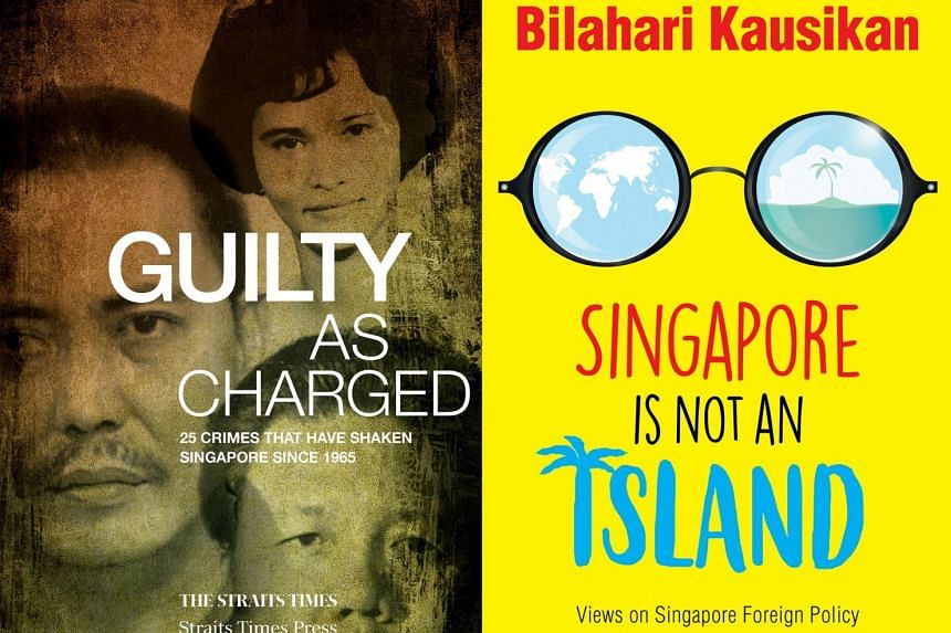 Guilty As Charged (left) and Singapore Is Not An Island (right).