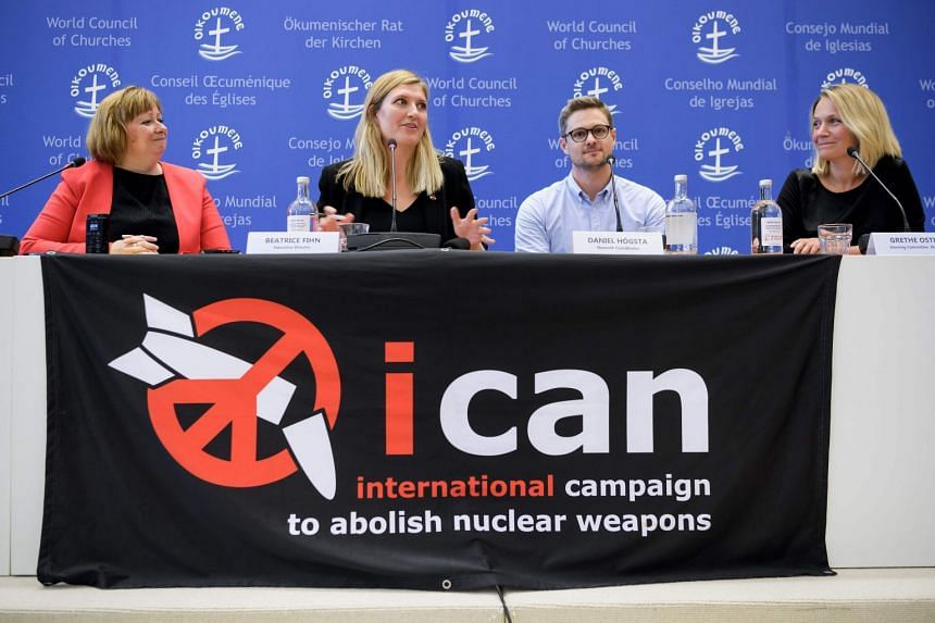 The International Campaign to Abolish Nuclear Weapons (ICAN) won the Nobel Peace Prize in 2017.