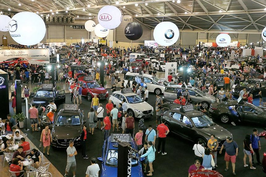 Cars@Expo, an auto retail bazaar organised by Singapore Press Holdings, is having its second run this year. Today is the final day of the event, and it will run from 10am to 8pm at the Singapore Expo.