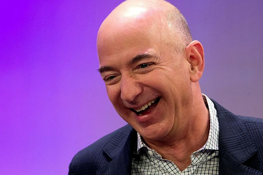 Amazon founder and chief executive officer Jeff Bezos had a net worth of US$93.8 billion on Friday.