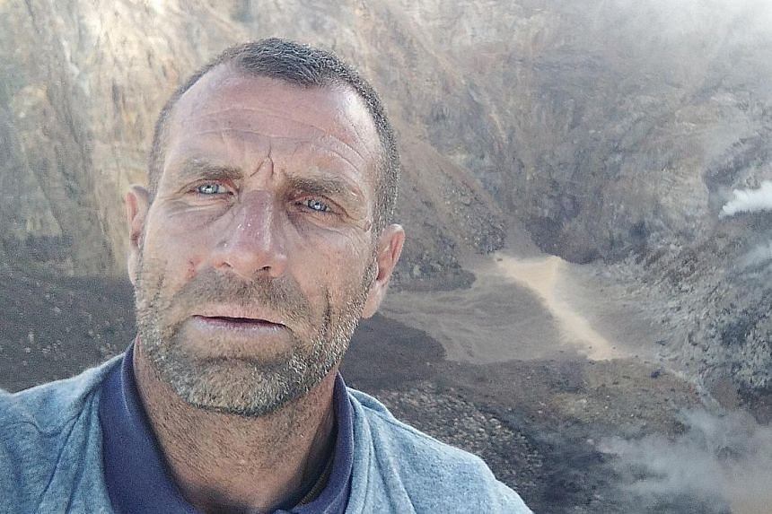 Frenchman Karl Kaddouri, who calls himself an extreme adventurer, climbed to the top of Mount Agung, reaching the edge of the volcano's crater and taking video footage that he later uploaded on his Facebook page. Mount Agung is on the highest alert l