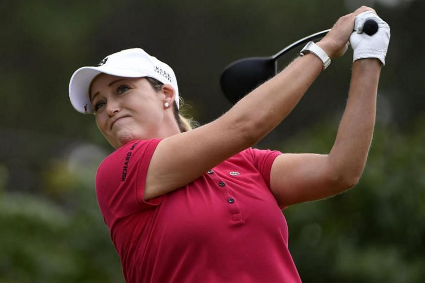 Golfer Cristie Kerr took a one-stroke victory at the Sime Darby LPGA Malaysia on Oct 29, 2017.