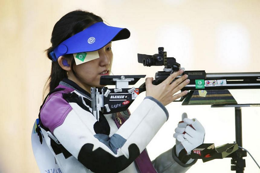 Shooter Jasmine Ser finished seventh in the 50m rifle three positions event in New Delhi, on Oct 28, 2017.