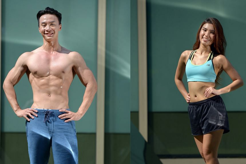 Marcus Ong (left) and Jade Lee (right)