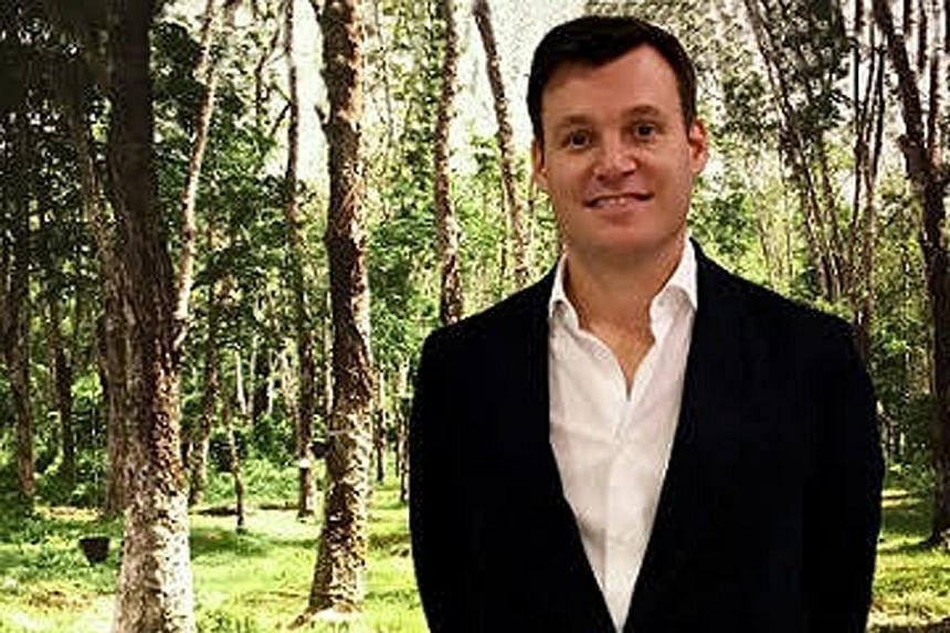 """Halcyon Agri CEO Robert Meyer wants his company to be the """"Wilmar of rubber"""", the go-to enterprise globally for natural rubber."""