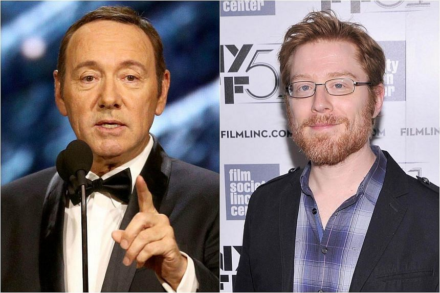 Kevin Spacey (left) was said to have sexually targeted actor Anthony Rapp at a party in 1986.