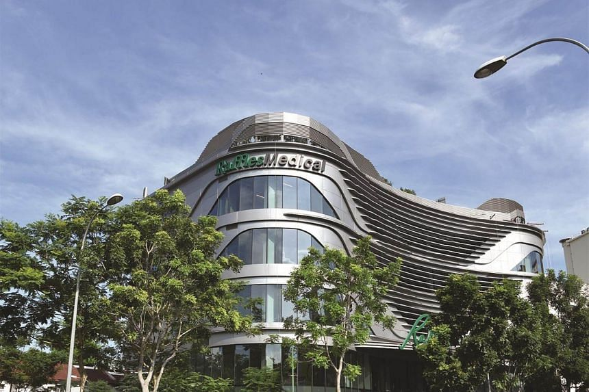 Raffles Medical Group reported a 1 per cent rise in net profit for the third quarter.