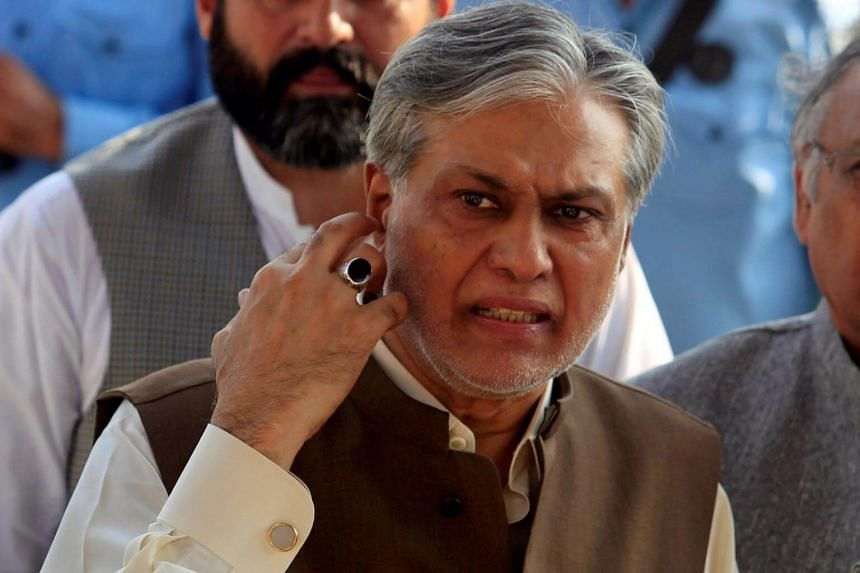 Pakistani Finance Minister Ishaq Dar is currently receiving medical treatment in London.