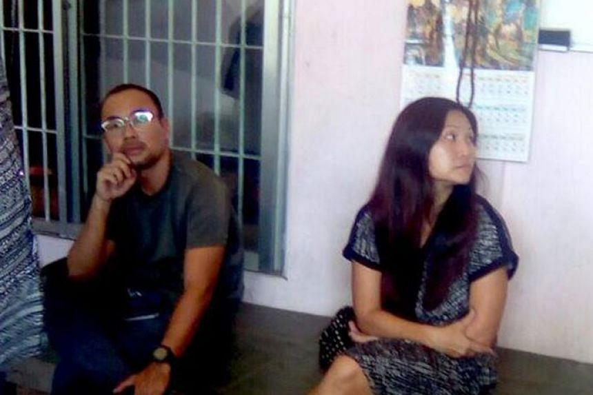 Lau Hon Meng (left) and Mok Choy Lin are currently in custody pending trial in Myanmar.
