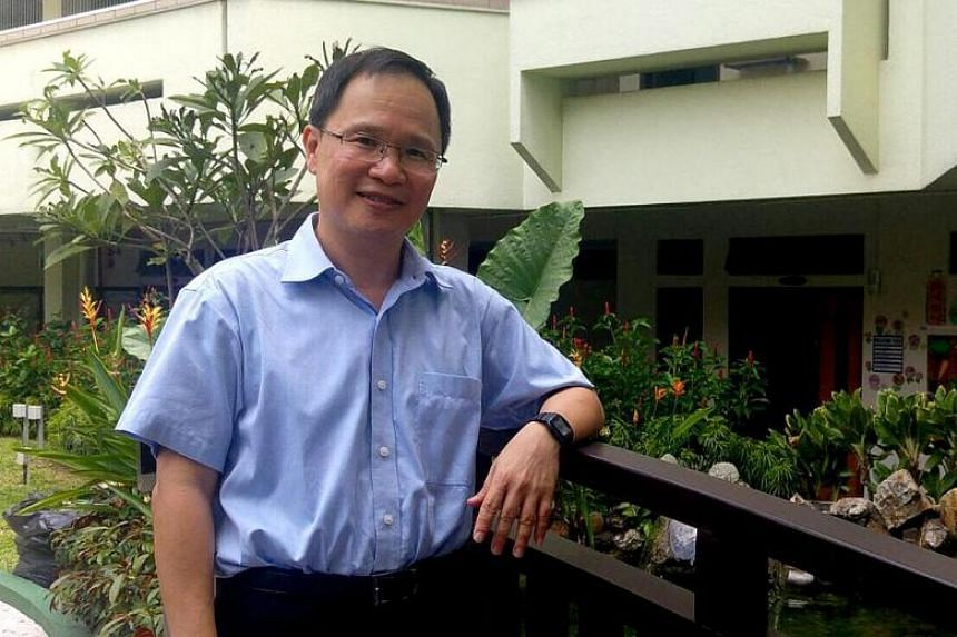 Mr Michael Lim now has a master's degree in gerontology. PHOTO:AGENCY FOR INTEGRATED CARE