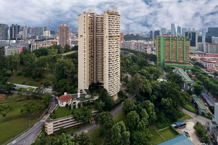The 37-storey Pearlbank Apartments was Singapore's first high-rise apartment block when it was built in 1976.