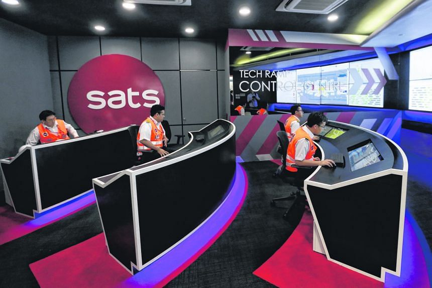 Sats, which already owns a 4 per cent stake in the largest flight caterer in Malaysia, Brahim's Sats Investment Holdings, said that the new partnership with AirAsia will give it access to the Malaysian ground-handling market. The partners will explor