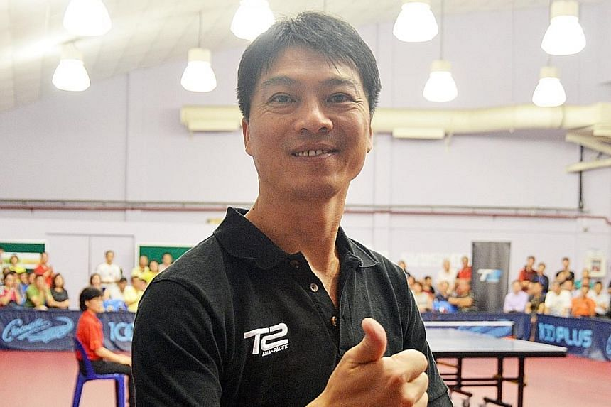 The resurgence of China's key table tennis rivals has not worried 1980s great Jiang Jialiang. He is one of four team captains for the T2 Asia Pacific Table Tennis League and is here to promote it.