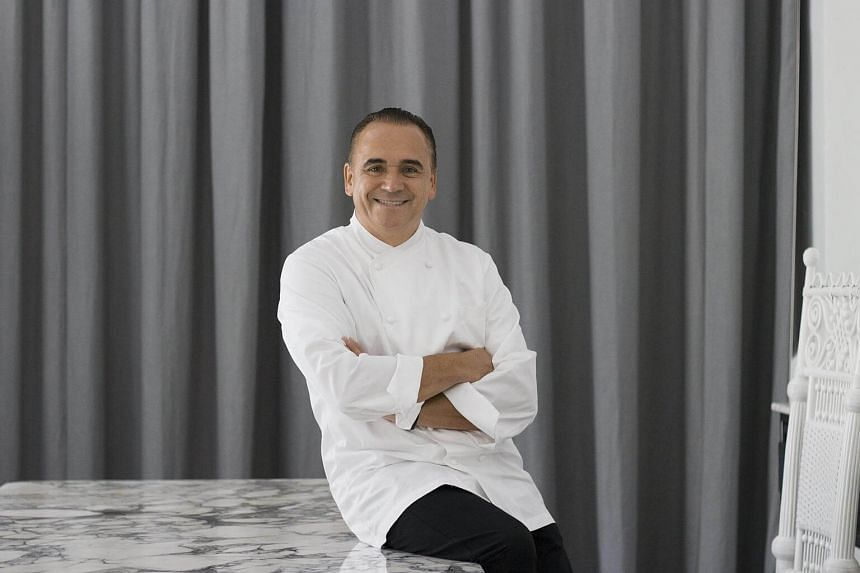 Celebrity chef Jean-Georges Vongerichten has been downgraded from three to two stars.