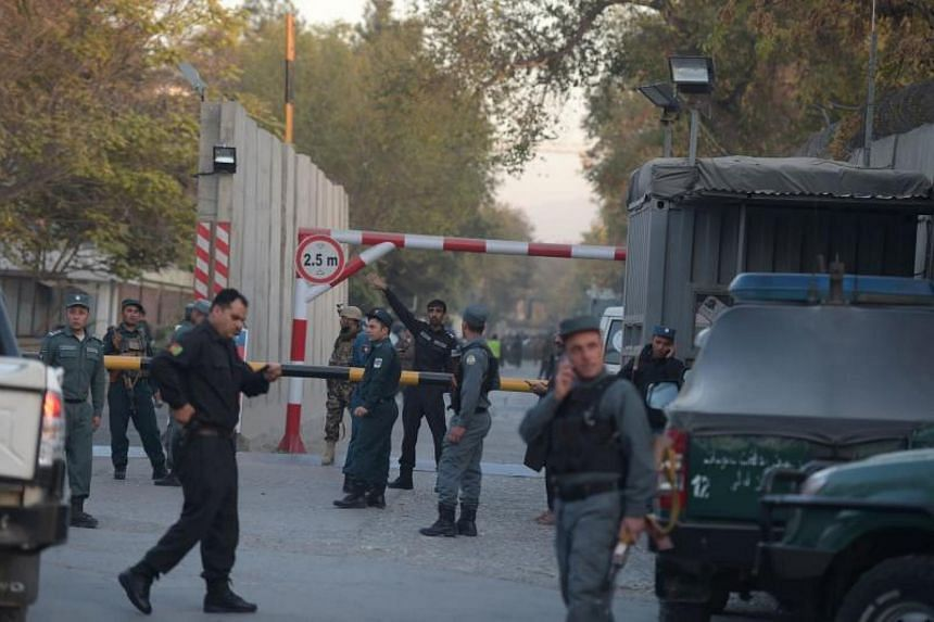 The attacker blew himself up with an explosive vest in the diplomatic zone, the first such attack since May.