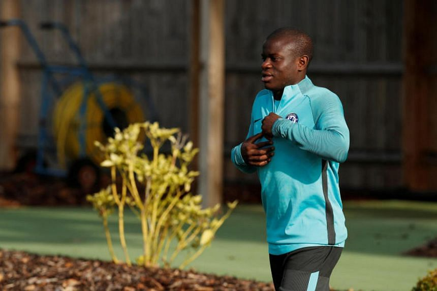 N'Golo Kante missed Chelsea's last five matches after sustaining a hamstring injury.