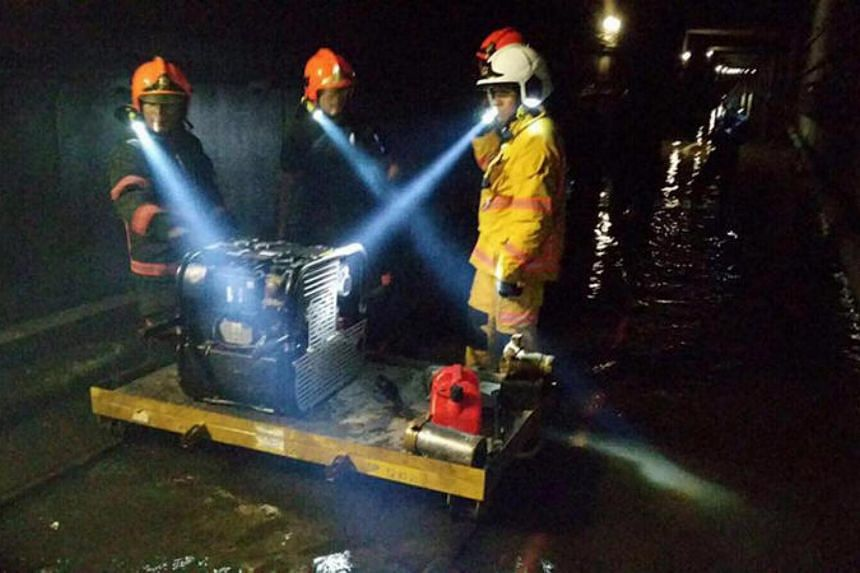 The lack of maintenance led to the failure of a pump system and the flooding of the train tunnel causing a massive 20-hour disruption on the North-South Line on Oct 7.