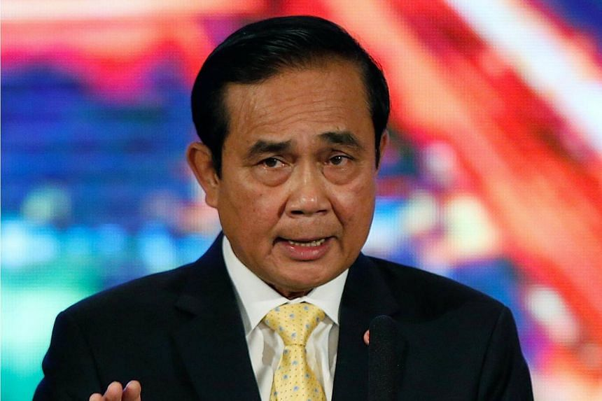 Prime Minister Prayut Chan-o-cha cited persistent political divisions and mud-slinging as reasons why the ban should stay.