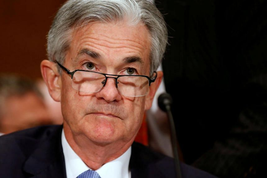 Jerome Powell, a governor on the board of the Federal Reserve System, prepares to testify to the Senate Banking Committee on Capitol Hill in Washington, US on June 22, 2017.