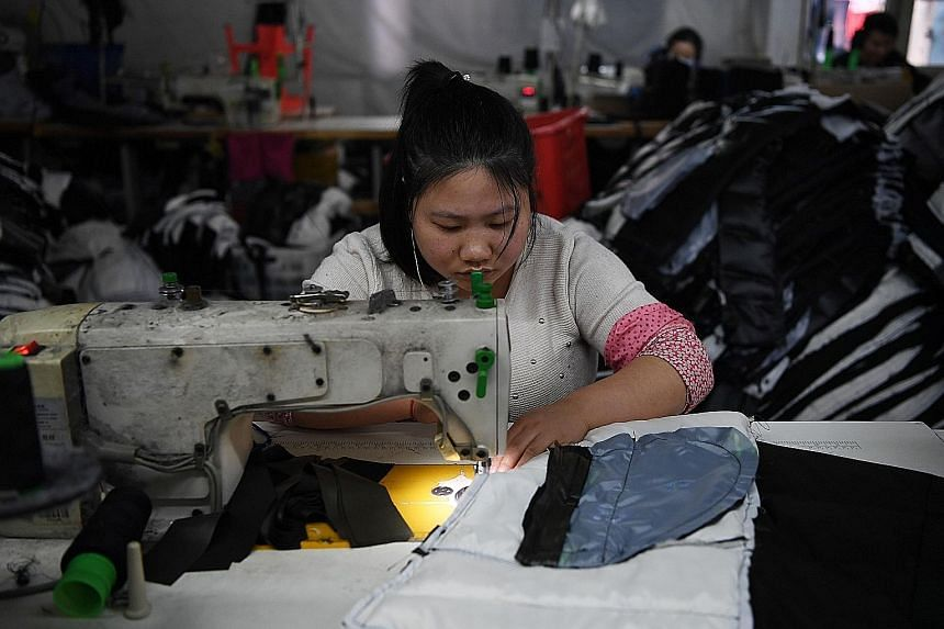 China's monthly official factory survey also showed unexpected weakness in new export orders, which had been expected to pick up heading into the peak year-end shopping season.