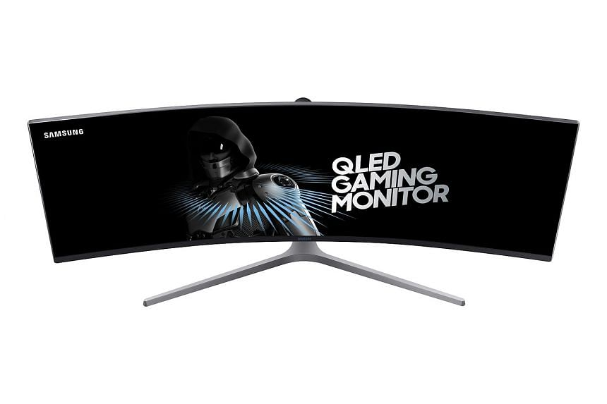 This monster 49-inch CHG90 Qled gaming monitor features a super ultra-wide display. Heavy multitaskers will relish the ability to fit multiple windows on this monitor's extended canvas.
