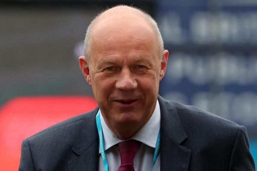 """Prime Minister Theresa May's deputy Damian Green said it was not true that he had touched the woman's knee and told her that his """"wife was very understanding"""" during a meeting in a pub."""