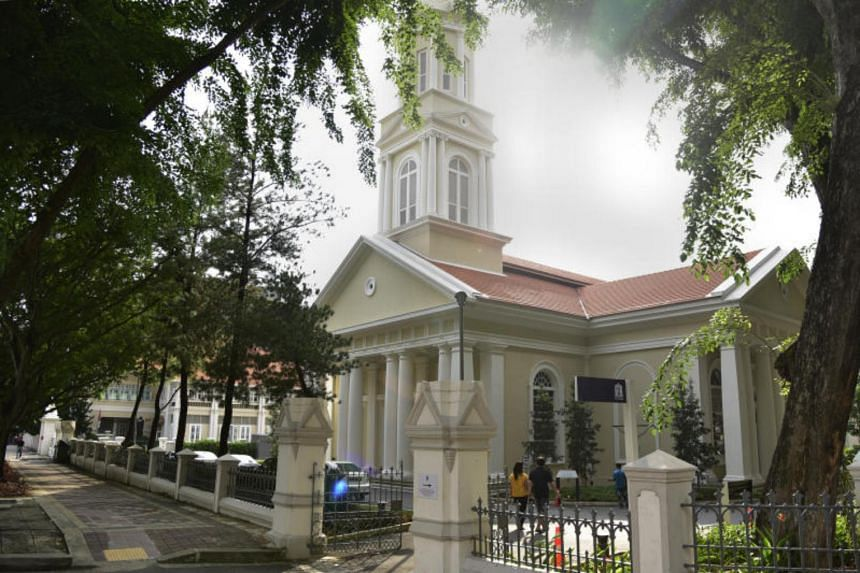 The Cathedral of the Good Shepherd is Singapore's oldest Roman Catholic Church.