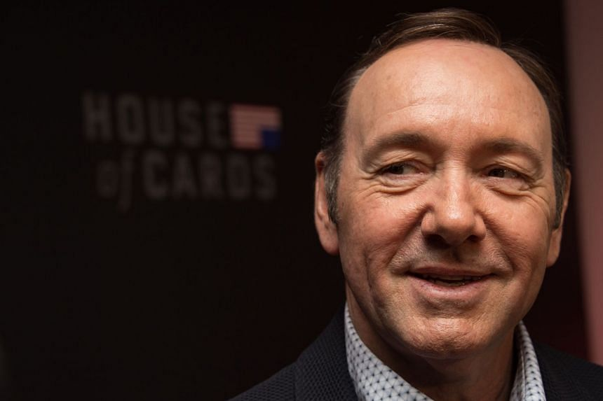 Kevin Spacey arriving for the season four premiere screening of House Of Cards in 2016 in Washington, DC.