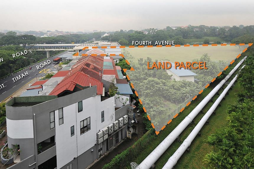 The Fourth Avenue site in Bukit Timah.